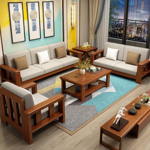 Teak Wood Sofa Set Online Teaklab