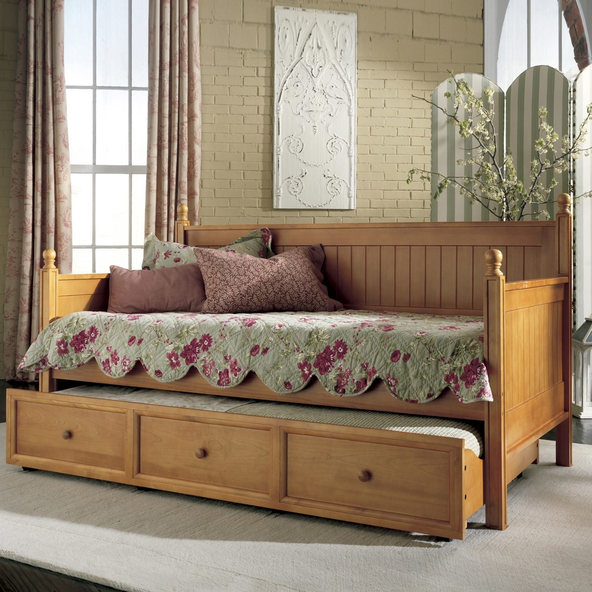 - Buy Teak Daybed With Roll-Out Trundle Drawer Online TeakLab